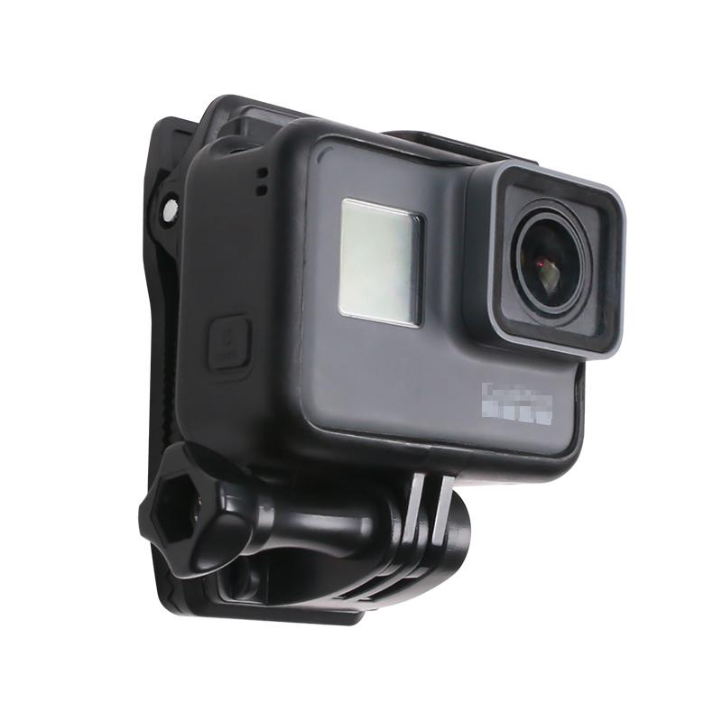 配件背包夹 For gopro8/7/6/5大疆运动相机肩带固定支架书包夹子