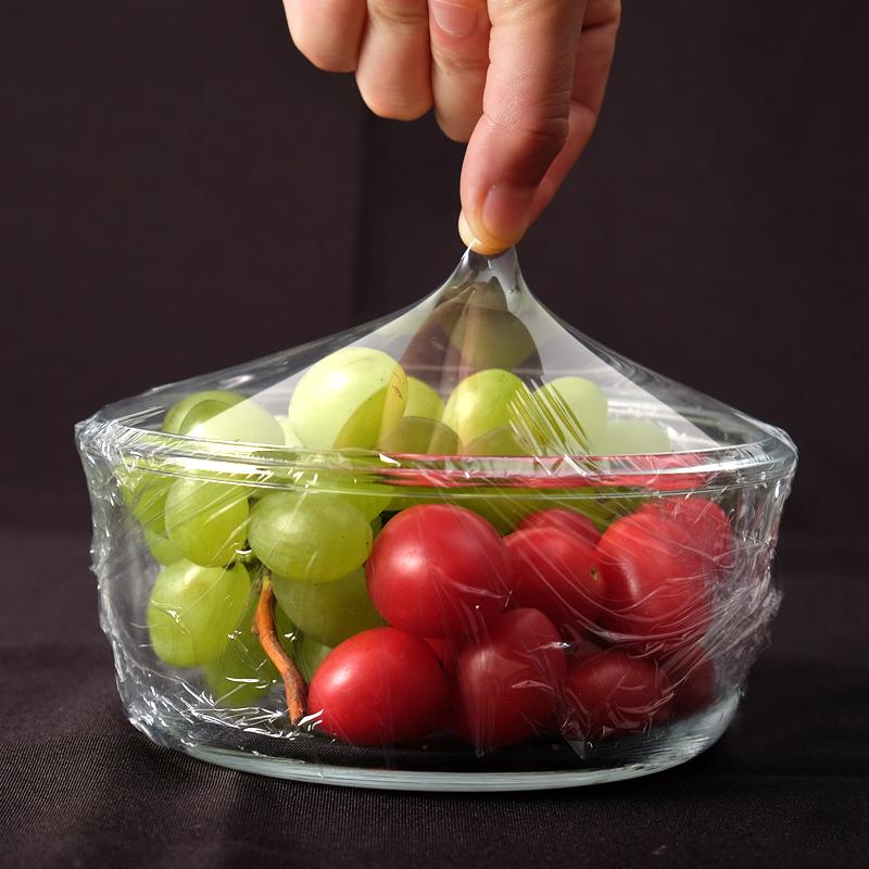 大卷保鲜膜家用经济装食品级厨房专用型耐高温pe膜商用美容院专用
