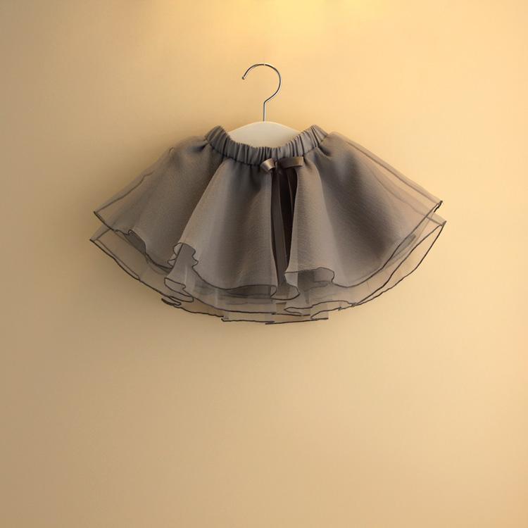 婴儿蓬蓬裙1-2-3岁儿童公主裙子女宝宝短裙春装4-5女童纱裙半身裙