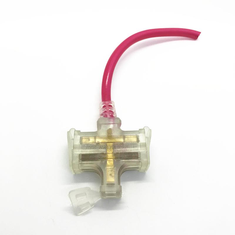 DIY使用 摔不爛 一分三 膠皮插座 帶電源顯示燈 接線板