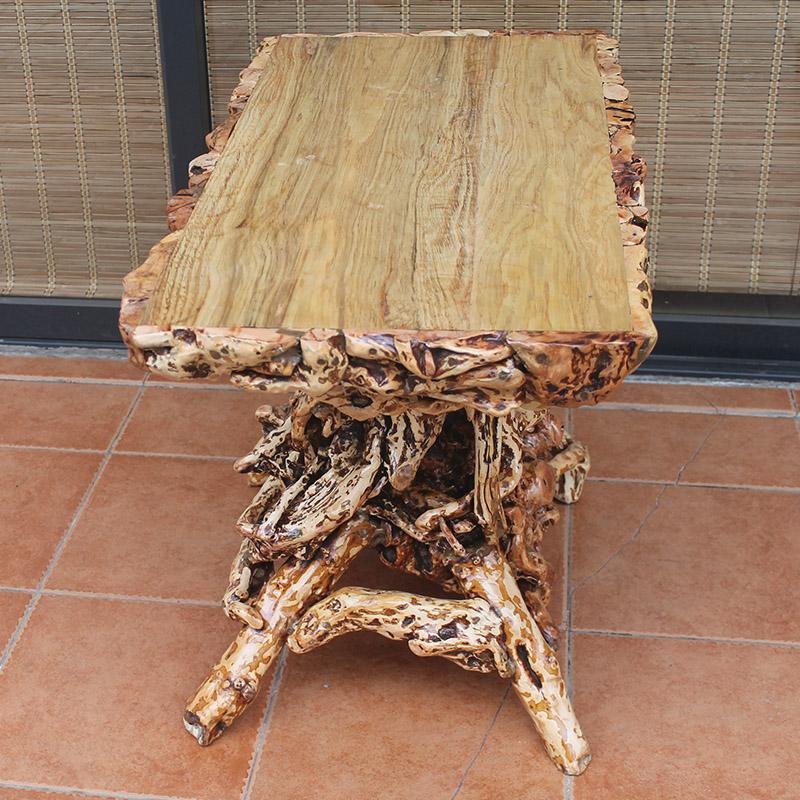 定做实木根雕盆景架茶几 特色根艺花架置物架 奇石茶盘底座 促销