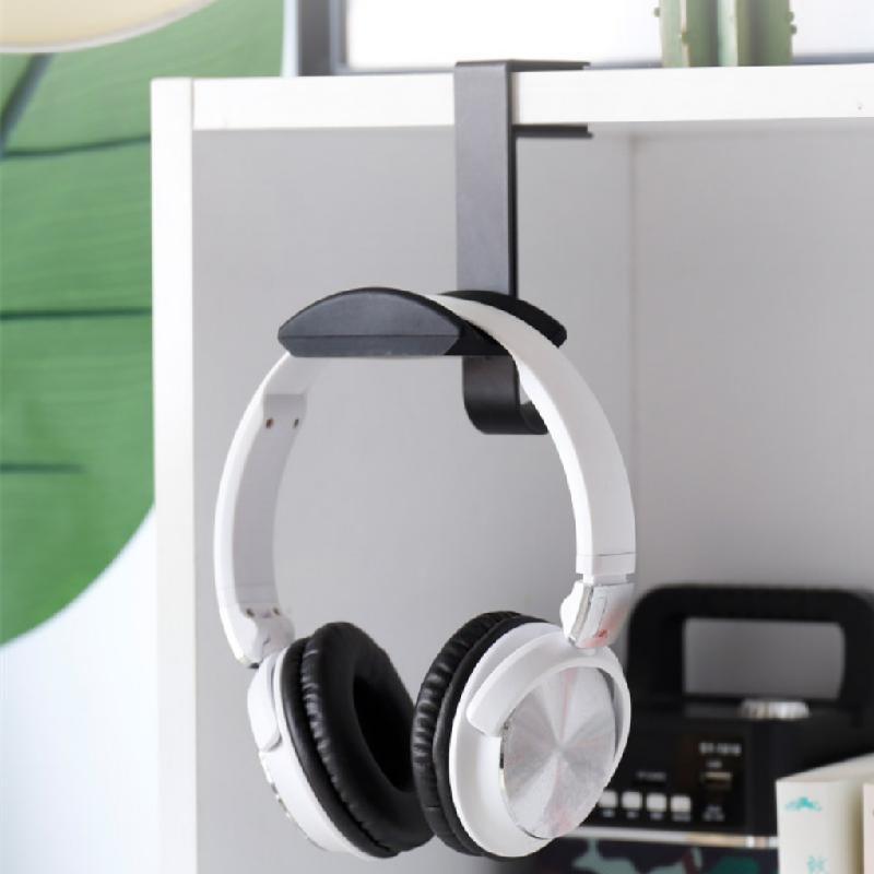 夾邊耳機支架頭戴式耳麥架 書包 掛鉤 托架 台夾桌面 書架耳機架