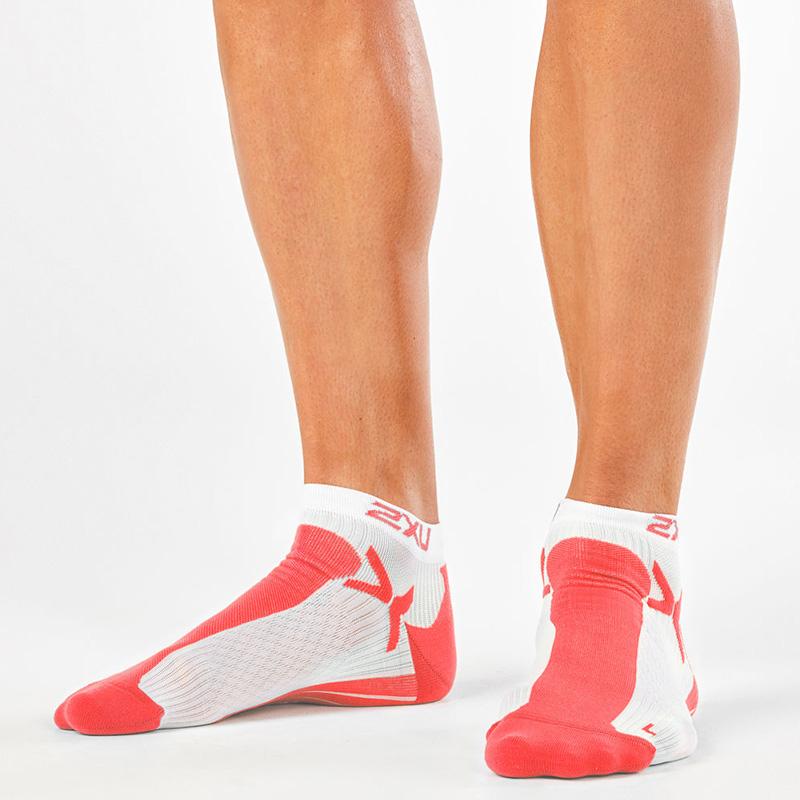 正版进口2XU低帮运动短袜跑步户外健身马拉松男女透气速干春夏