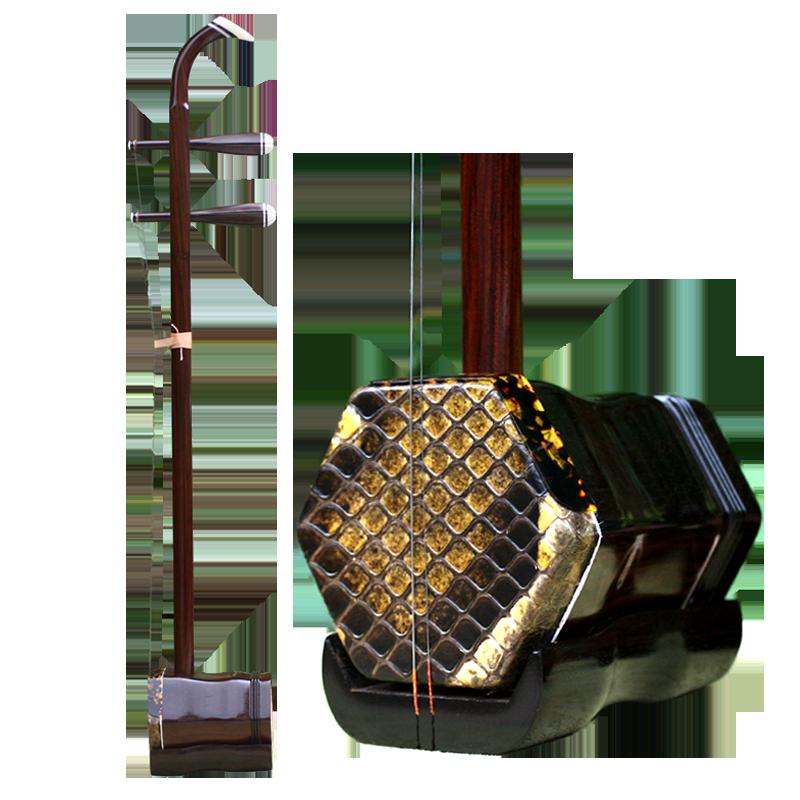 专业演奏考级二胡老红木弯头二胡乐器手工戏曲京剧专用二胡送配件