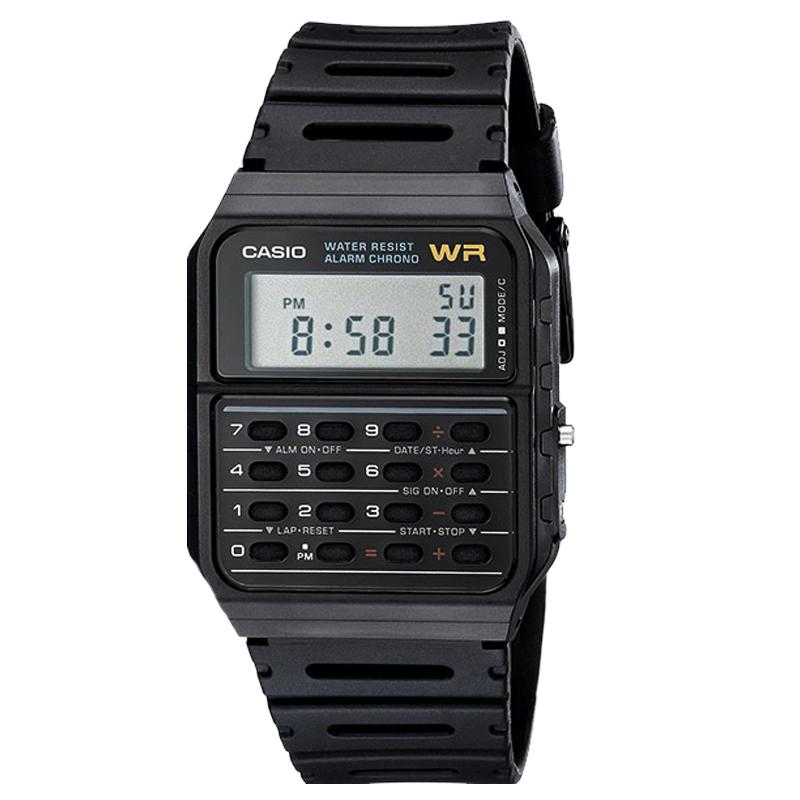 1Z 53W CA 卡西欧计算器手表男多功能学生女表方块复古电子表 casio