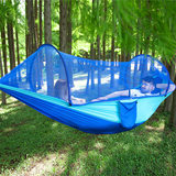 Free Hawk Parachute Cloth Hammock New Double Leisure Outdoor Indoor Non-mesh Canvas Lightweight