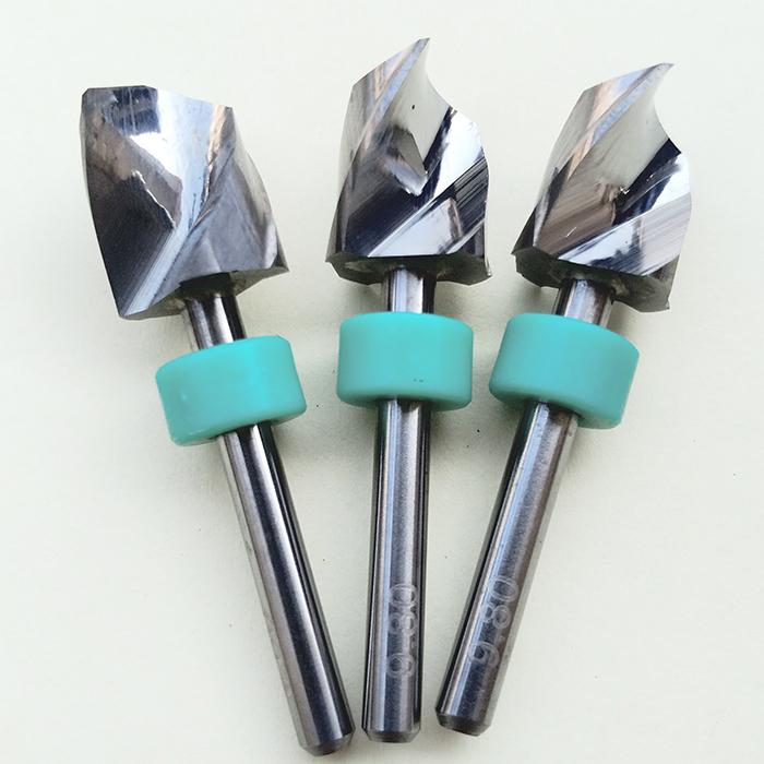 钨钢钻头雕刻机电线板亚克力数控合金硬质定柄PCB钻咀9.0/9.5/10