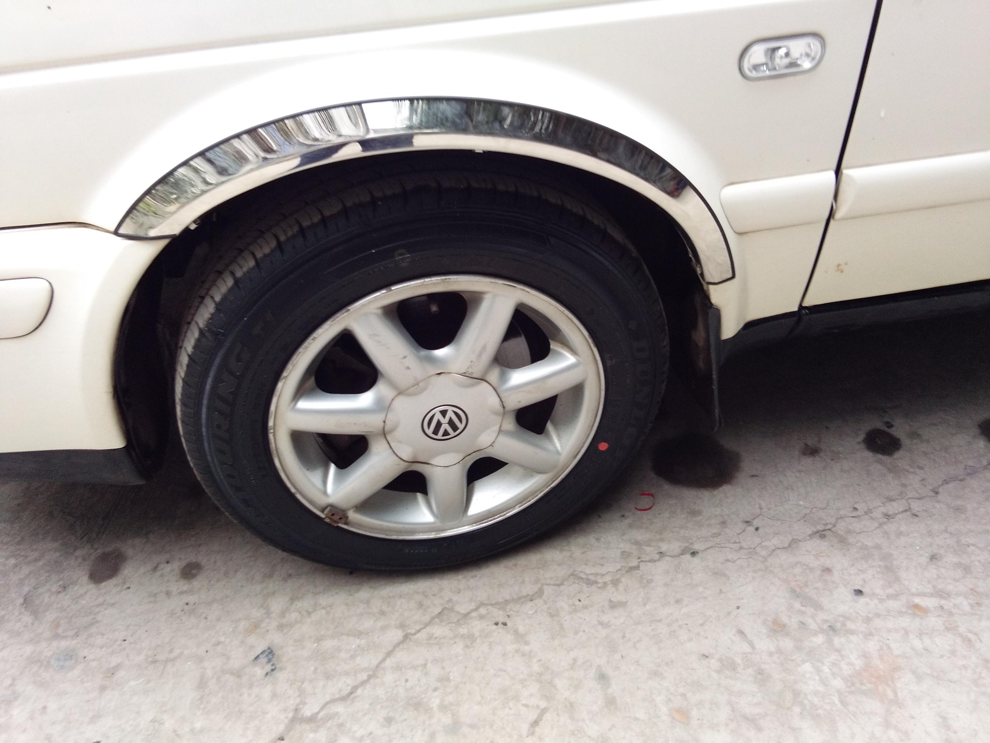 大众98-04-17年新老款捷达轮眉 专用改装不锈钢轮眉装饰条 捷达