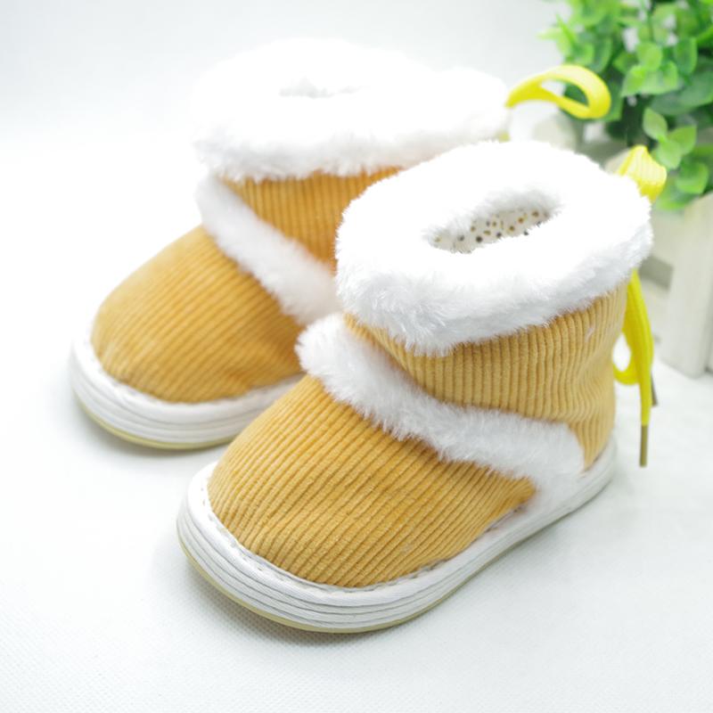 儿童手工布鞋千层底棉花棉鞋1-3岁冬季保暖老北京宝宝学步配唐装