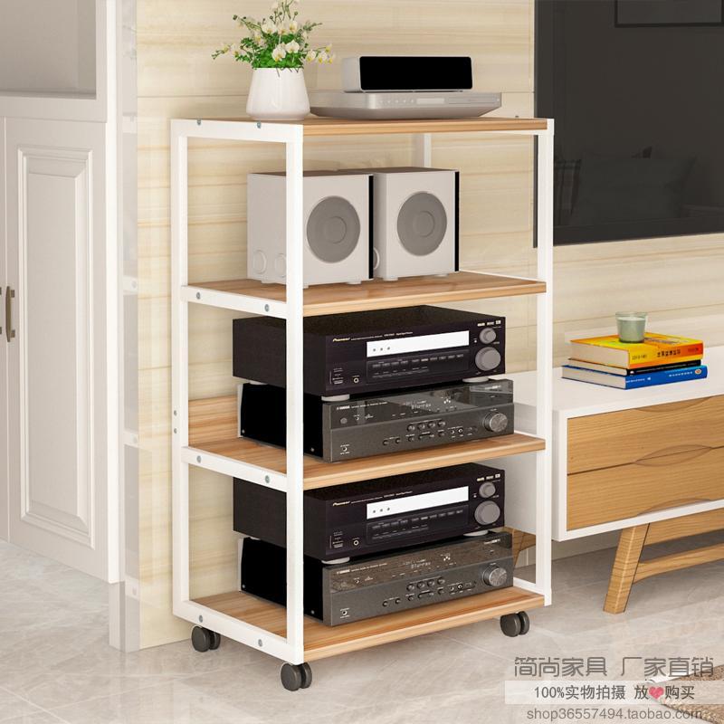 功放机架功放柜子音响音箱功放机柜可移动CD胆机hifi器材支架脚架
