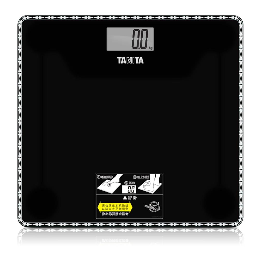 日本百利達TANITA電子健康秤HD-380 人體秤 體重稱鋼化玻璃秤精準