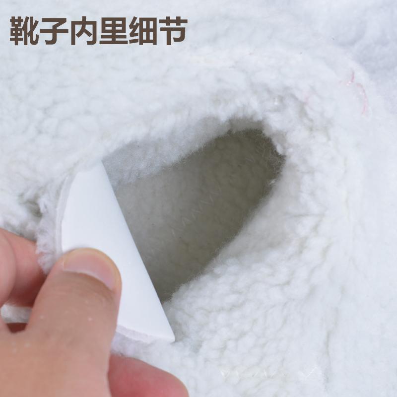 雪地靴女高筒冬季户外保暖加绒东北防滑棉鞋加厚防水单板滑雪鞋