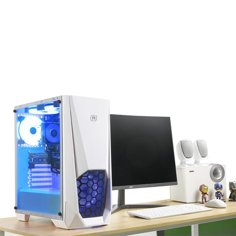 寧美國度電腦主機i5 9400F/GTX1050Ti升GTX1650高配組裝電腦臺式機網咖全套整機吃雞游戲主機辦公diy兼容機