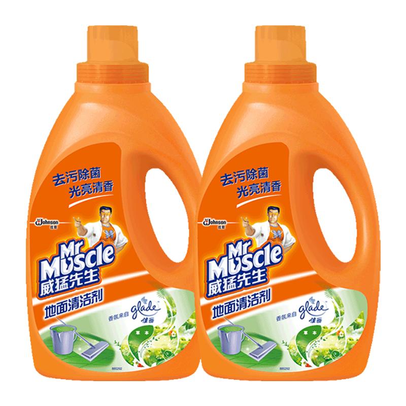 威猛先生地面清洁剂2kg*2瓶