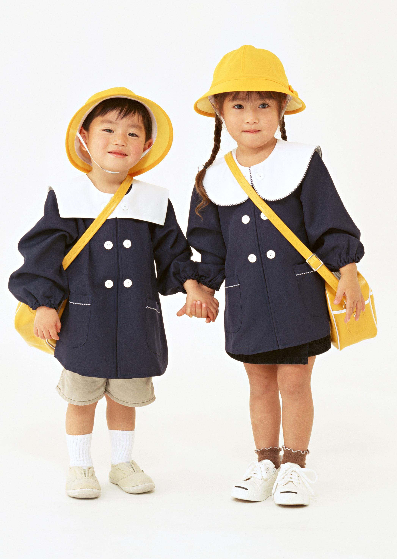 日本幼兒園幼稚園小學校服制服園服春秋冬兒童外套嬰兒親子拍照