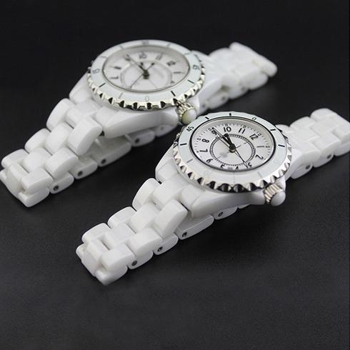 玻璃圈表壳外壳刻度外圈口陶瓷表圈黑白 J12 陶瓷手表配件男女