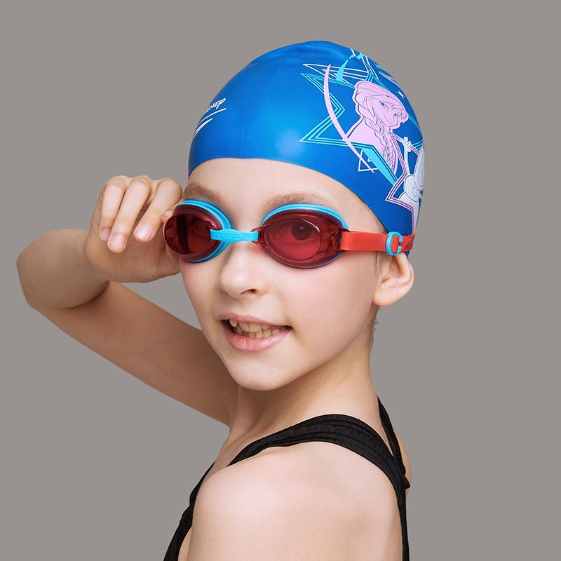 speedo 泳鏡 兒童大童 男女游泳鏡6-12歲舒適防水防霧貼合泳鏡