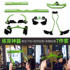 High pull down handle rowing pull back clip chest strength fitness training male gantry lever adjustable accessories equipment