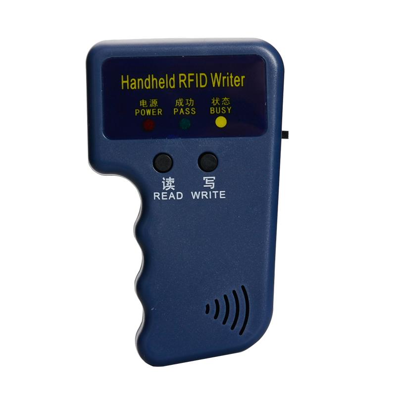 可重復擦寫空白磁卡配卡機 T5577 手持機 125K 門禁卡復制器讀卡器 ID