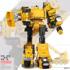 Boy's alloy version deformation toy engineering vehicle Autobot Hercules children's puzzle combination robot model