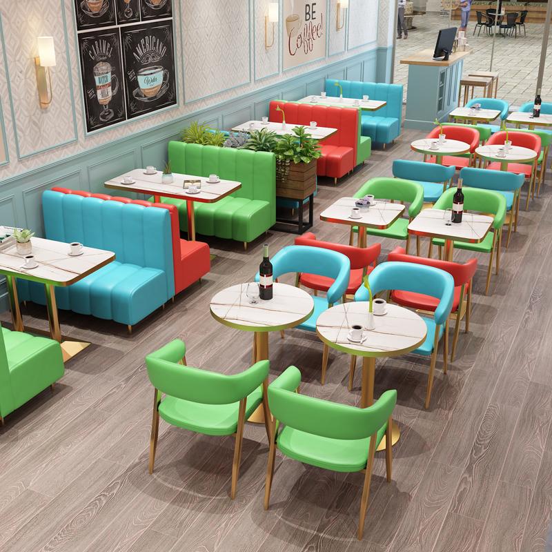 餐店桌椅餐饮家具组合