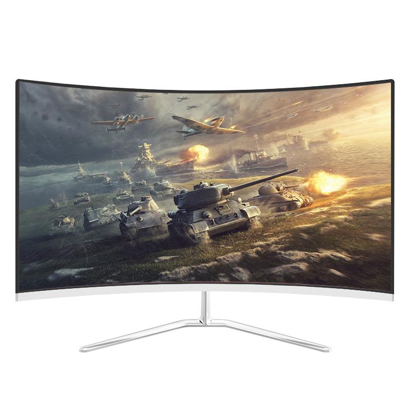 全新曲面24英寸液晶显示器22台式电脑显示屏27高清电竞32屏幕ps4