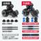 朗威 包胶环保哑铃男士一对杠铃家用健身器材10/20/30/40kg公斤