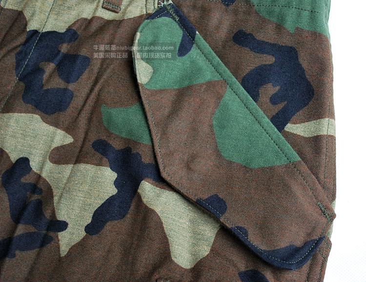 銅拉 斜紋 作戰褲 M65 四色叢林 BDU 美國原品公發君版 全新收藏級