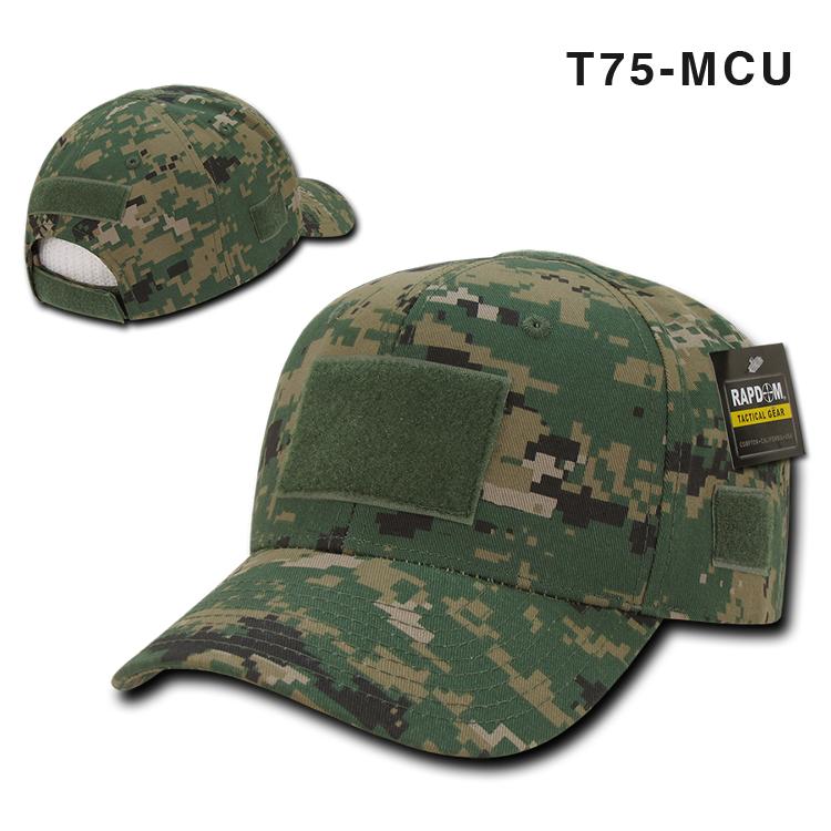 美国正品Rapid Dominance军迷户外迷彩魔术贴战术棒球帽鸭舌帽T75