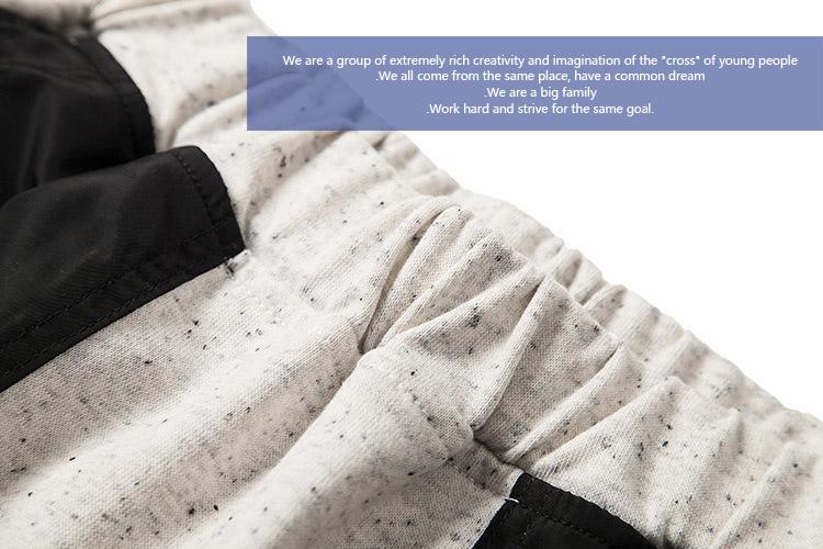 原创设计潮牌国潮短裤 夏天纯棉宽松五分裤短裤休闲潮男运动短裤