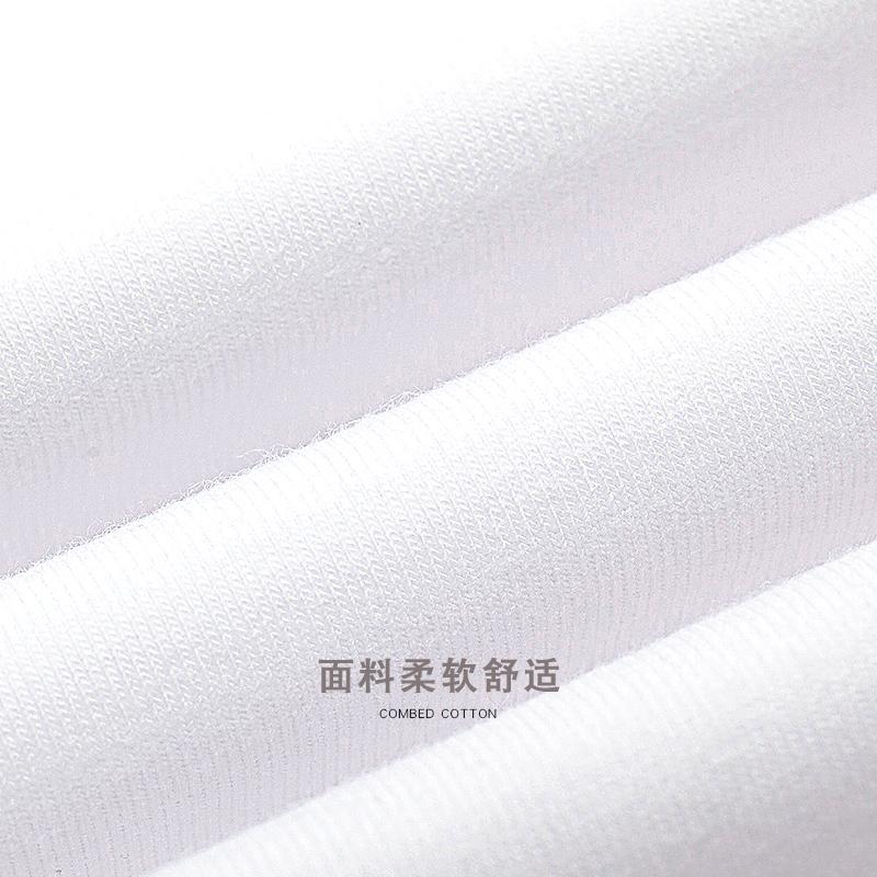 白色短袖t恤女2021年新款春季紧身打底衫内搭ins短款辣妹上衣服夏主图