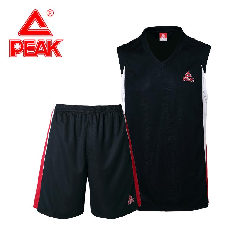匹克运动套装男2019夏季新款篮球服宽松背心跑步服健身服男两件套