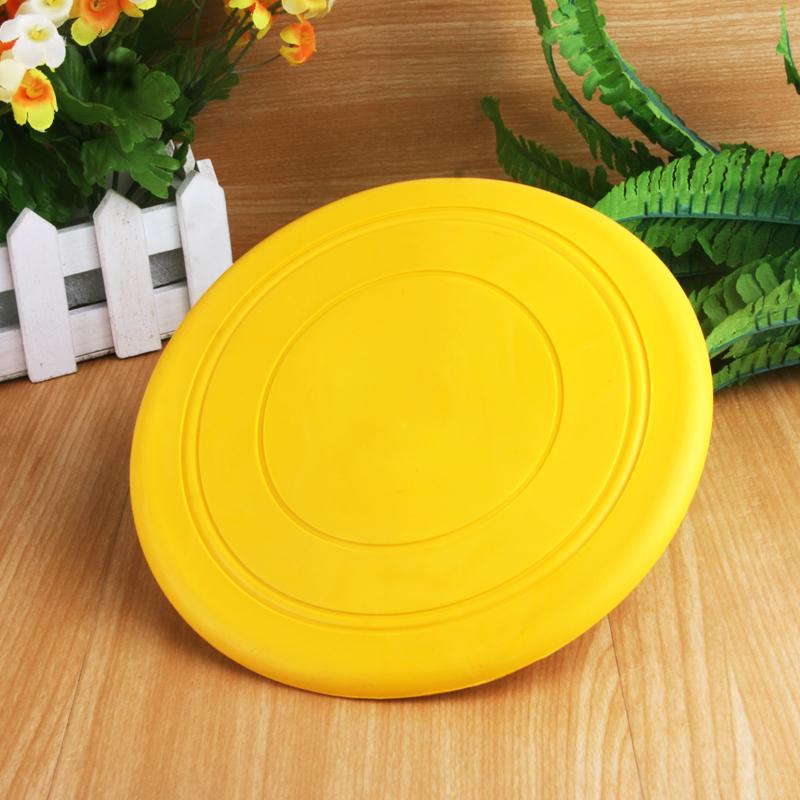 儿童软飞盘幼儿园小孩学生亲子户外运动游戏飞碟玩具专用安全硅胶
