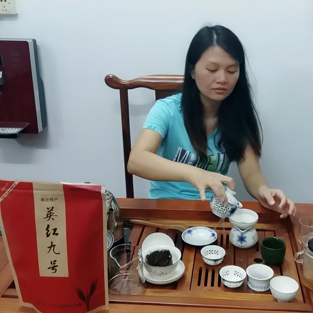 新茶特产 500g2019 广东茶叶英德红茶英红九号浓香型一级功夫茶散装