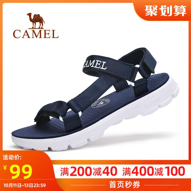 骆驼户外沙滩鞋凉鞋男女2019夏季户外韩版休闲拖防滑耐磨运动凉鞋