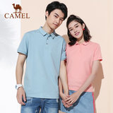 Camel sportswear POLO shirt men summer new couple wear short-sleeved T-shirt casual compassionate lapel top ladies