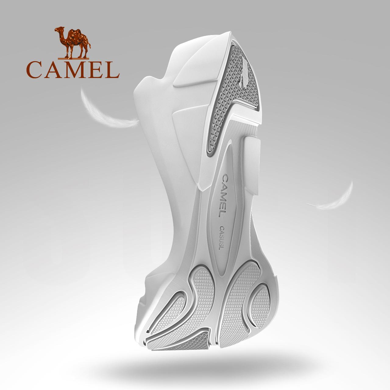 男女款运动透气轻便网布网面防滑耐磨登山鞋 骆驼户外徒步鞋 CAMEL