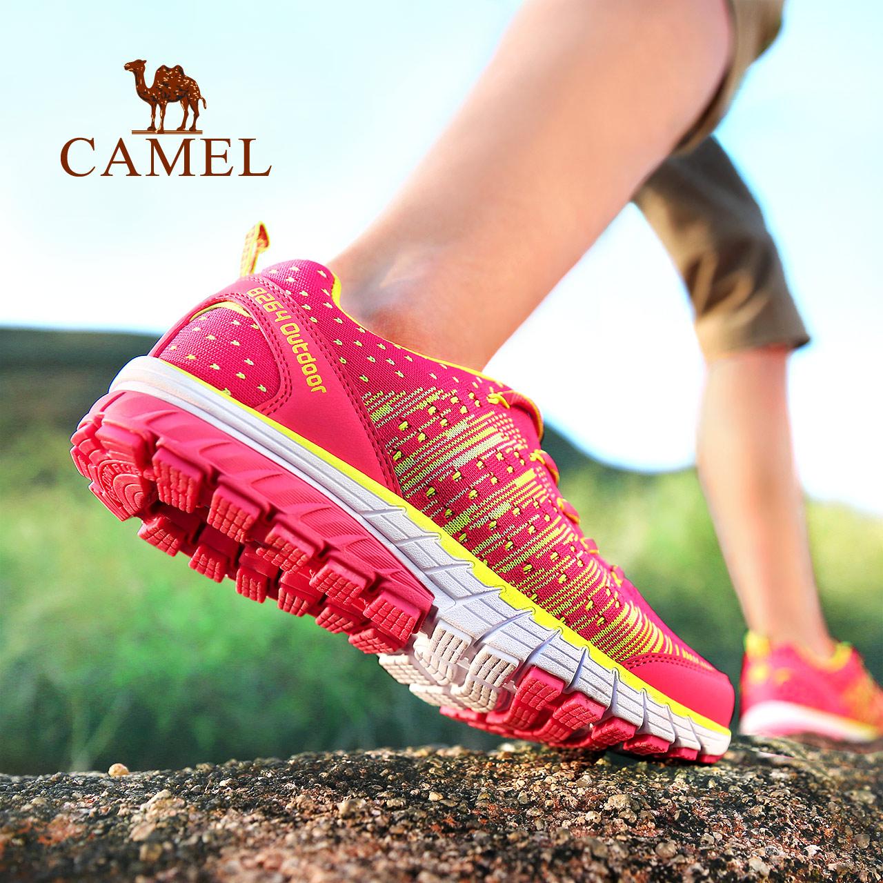 【双11预售】骆驼8264登山队越野跑鞋女士运动鞋轻便透气低帮鞋