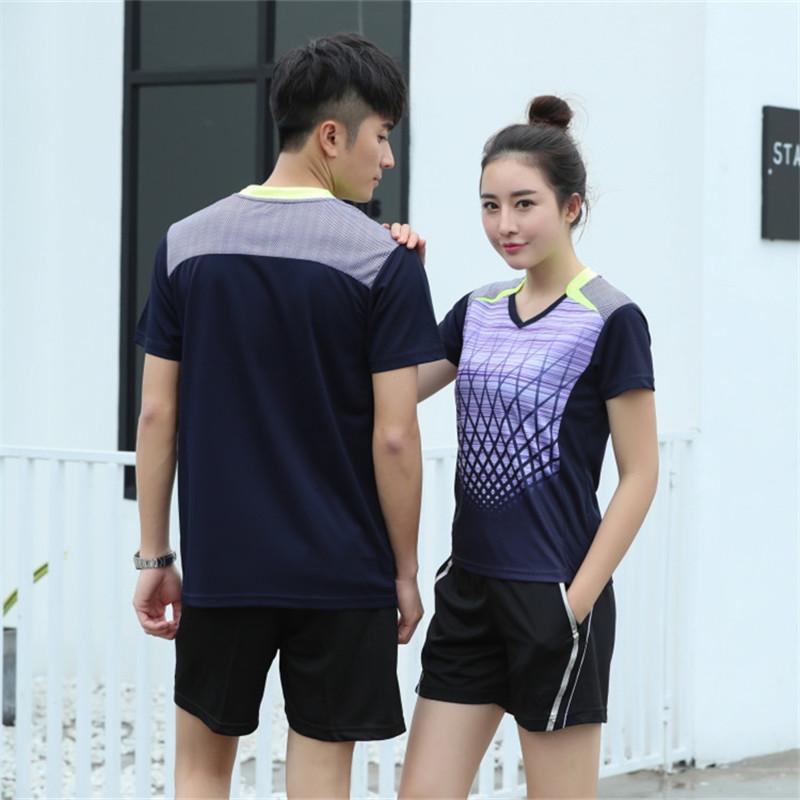 2019新款速干排球服套装男女短袖透气排球衣比赛组队服定制印号
