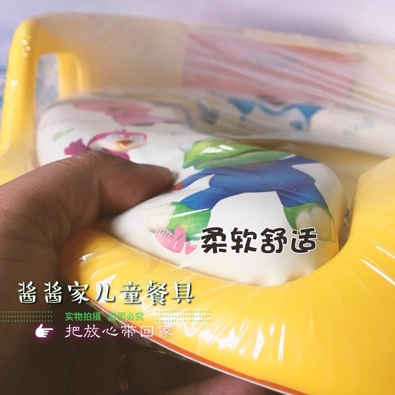 韩国pororo宝露露儿童马桶坐便圈宝宝马桶圈带扶手男女通用