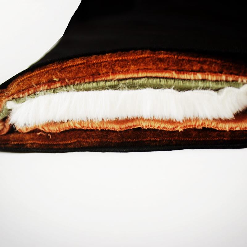 棉裤女冬加绒加厚东北中老年驼绒护膝高腰大码绒裤男士冬季保暖裤