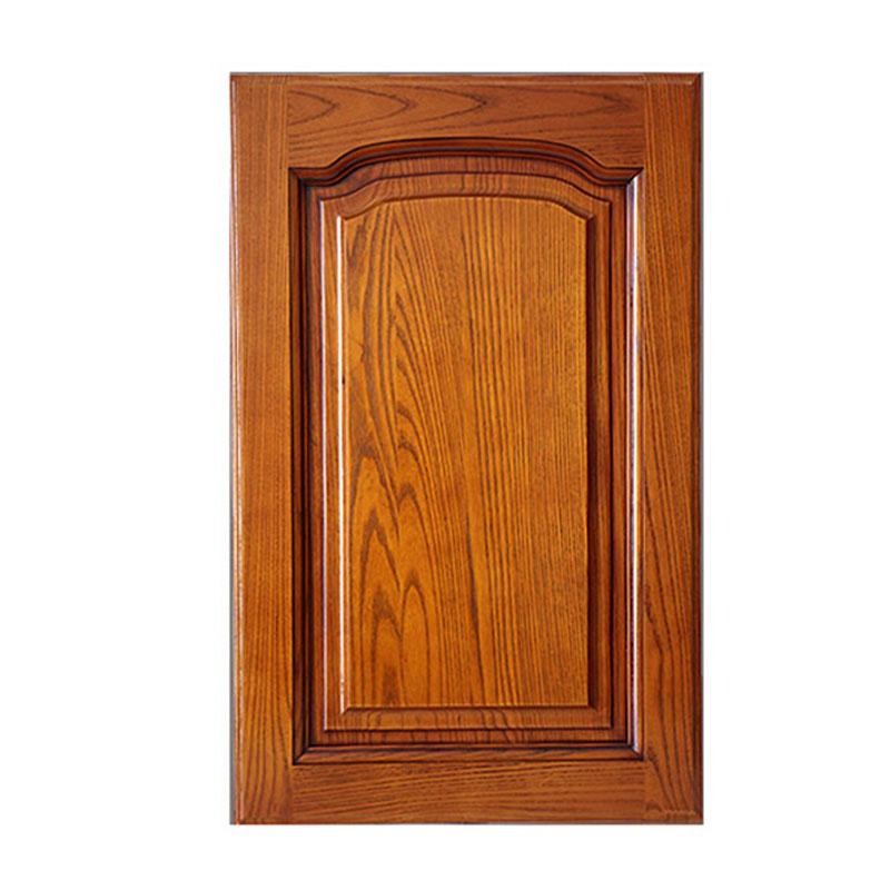 上海杭州全实木橱柜门板定做美国红橡木衣柜门厨柜门订制工厂直销