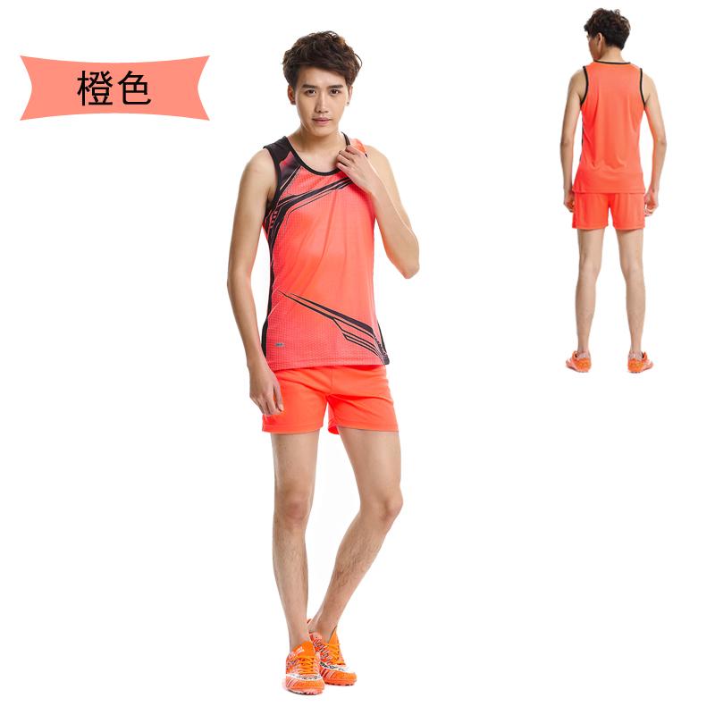 专业男女款田径服训练套装田径背心短裤比赛服跑步服舒适透气