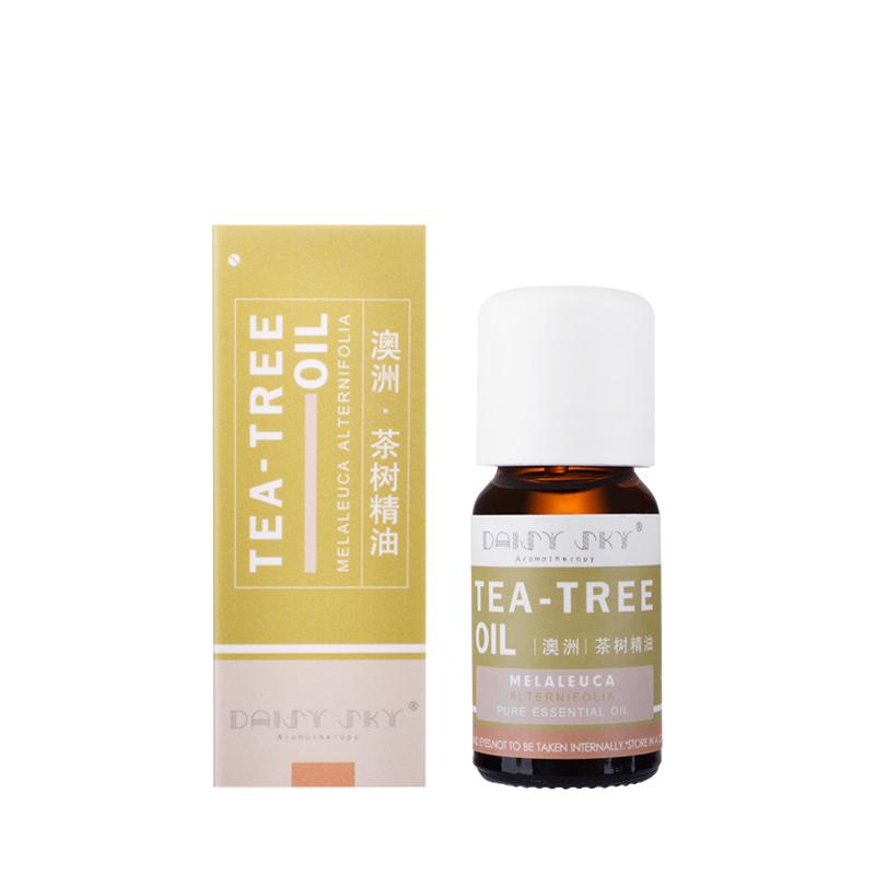 改善痘痘肌 收缩毛孔 天然进口 10ml 澳洲茶树精油 天空 雏菊