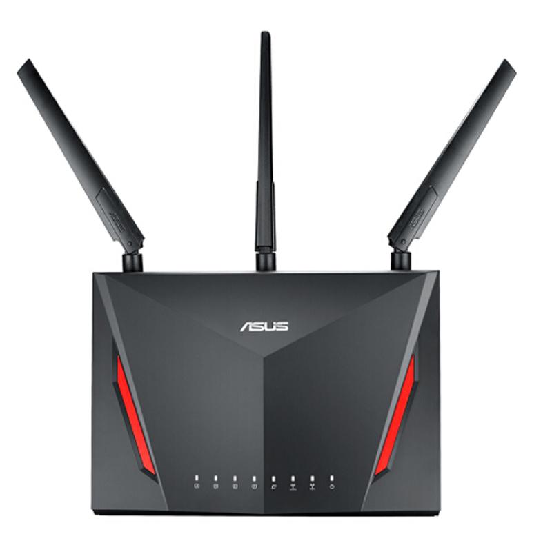 穿墙国行游戏 wifi 千兆路由器家用 AC2900M 光纤双频无线 AC86U RT 华硕