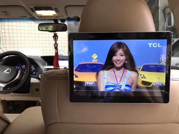 汽车头枕显示器后排娱乐系统车载电视机后排高清安卓后座头枕屏器
