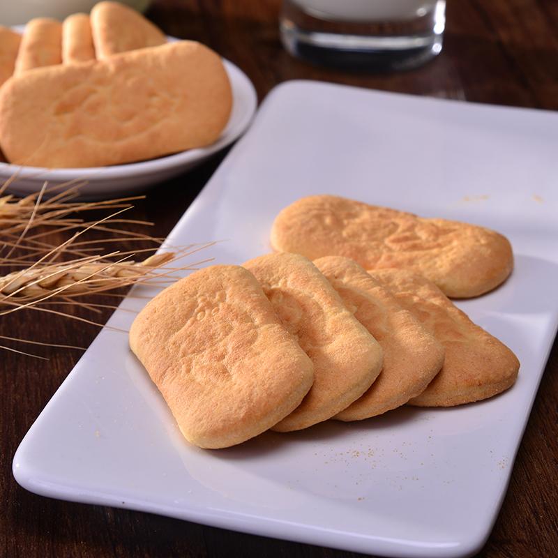 俄罗斯七夕河马孕妇宝宝儿童加碘钙铁磨牙饼干零食营养早餐饼180g