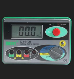 多一dy4100数字接地电阻测试仪防雷接地检测仪测试表手摇兆欧表