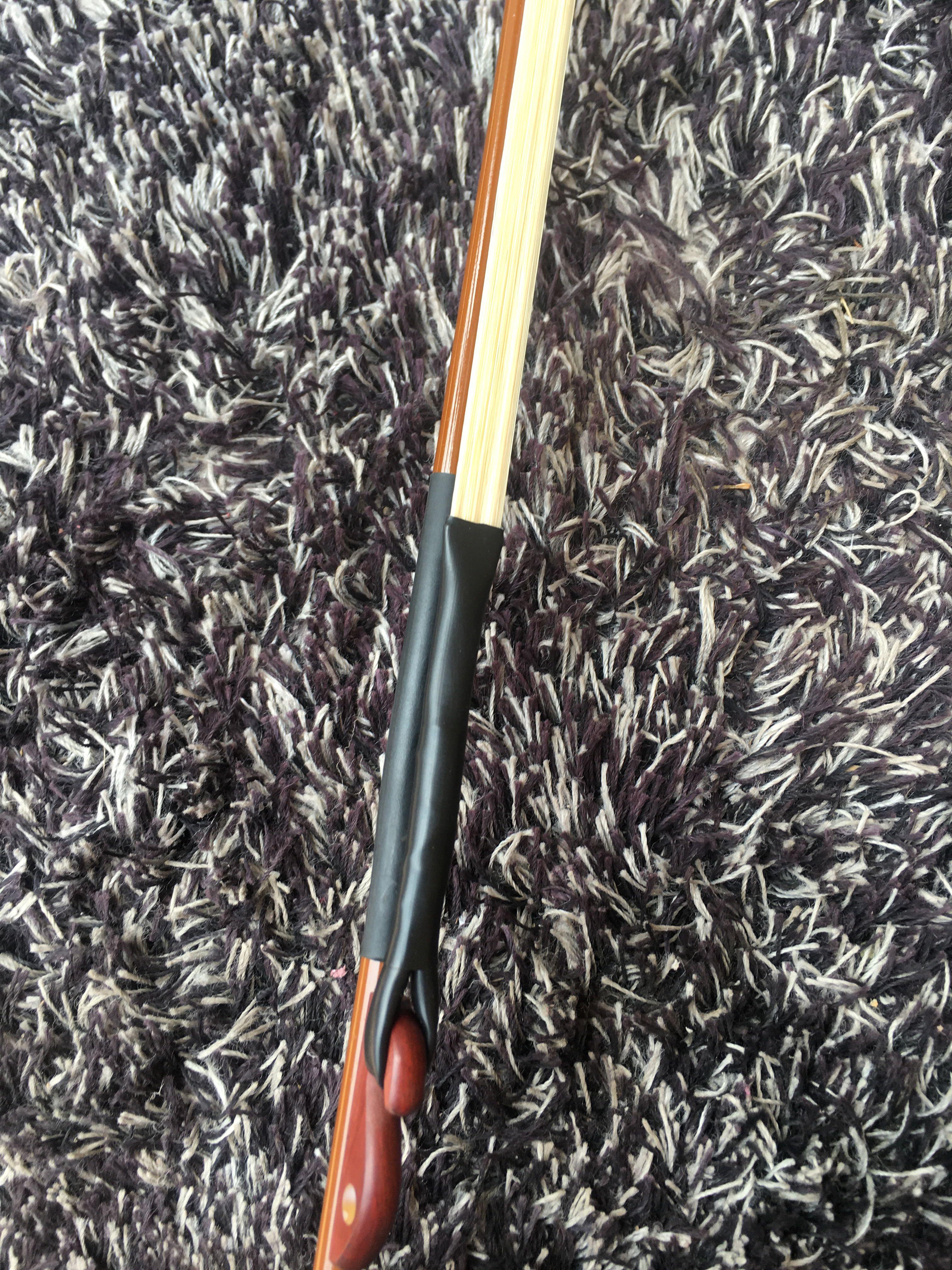 根马尾 300 厘米长 84 纯马尾二胡弓 专业紫竹马尾二胡弓