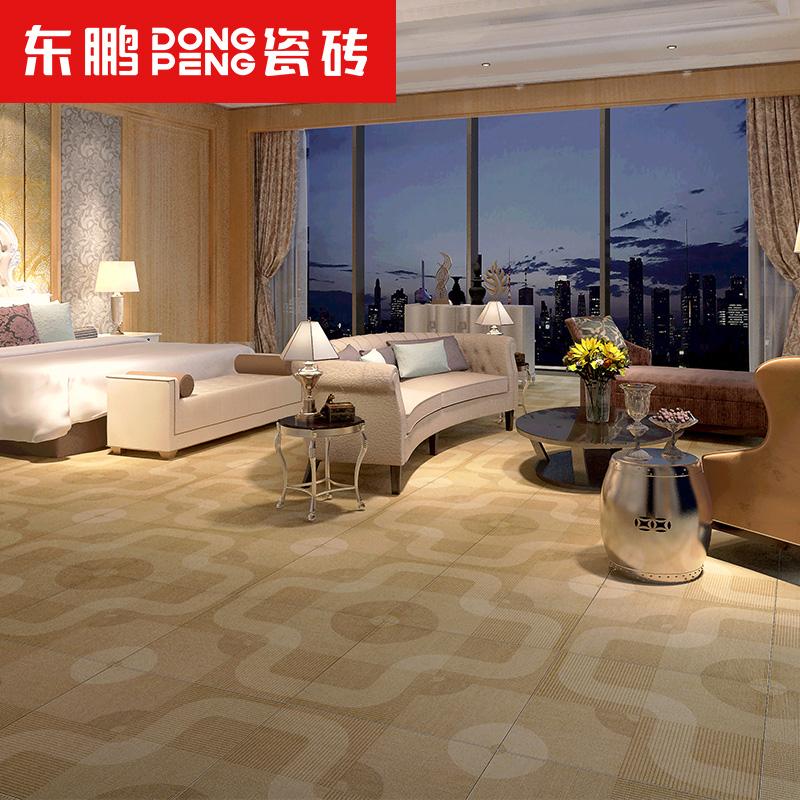 东鹏瓷砖 仿布纹砖地毯砖600x600卧室地砖简约现代仿古砖 尚毯